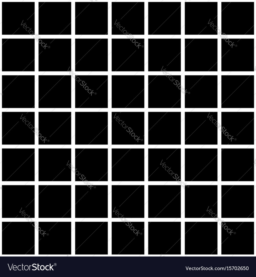 Black Square Tiles Texture Vector Image