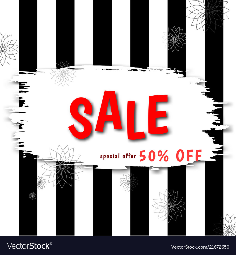 Stylish banner discount offer price label