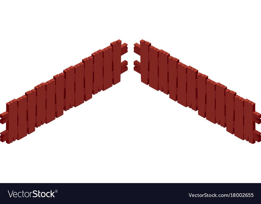 3d design for wooden fence