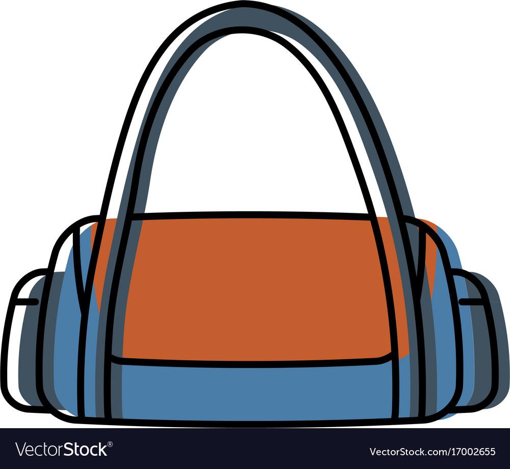 Gym bag icon Royalty Free Vector Image - VectorStock cf2bc8d43d595