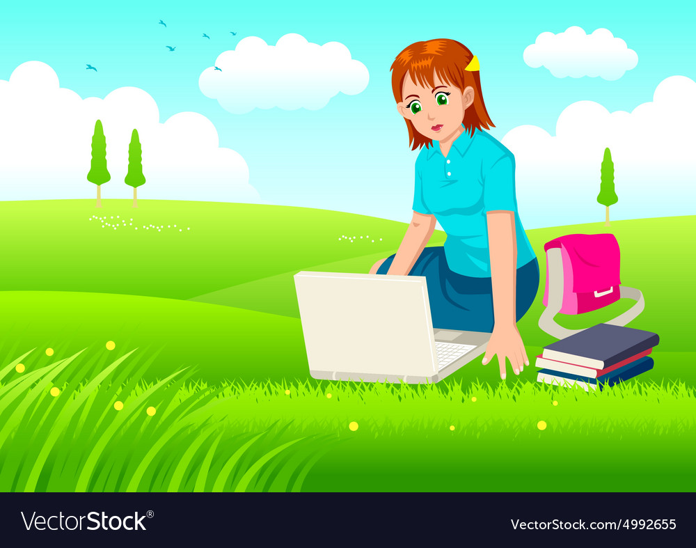 Working With Relax vector image