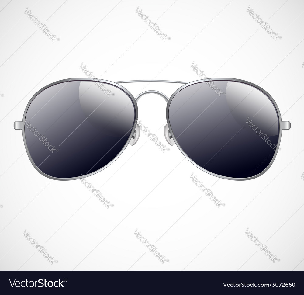 e35d3b529e Aviator sunglasses background Royalty Free Vector Image