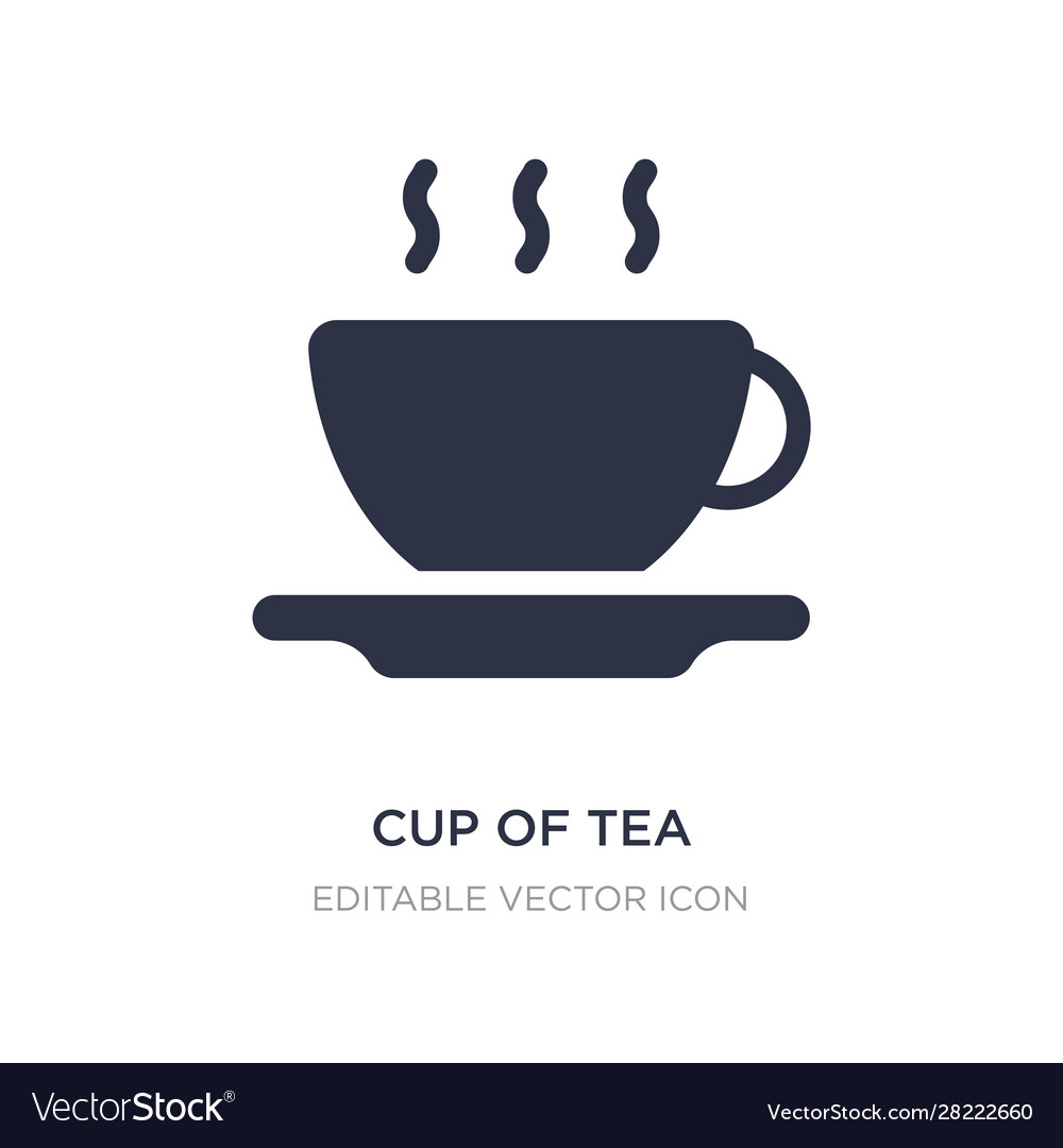 cup tea icon on white background simple royalty free vector cup tea icon on white background simple royalty free vector