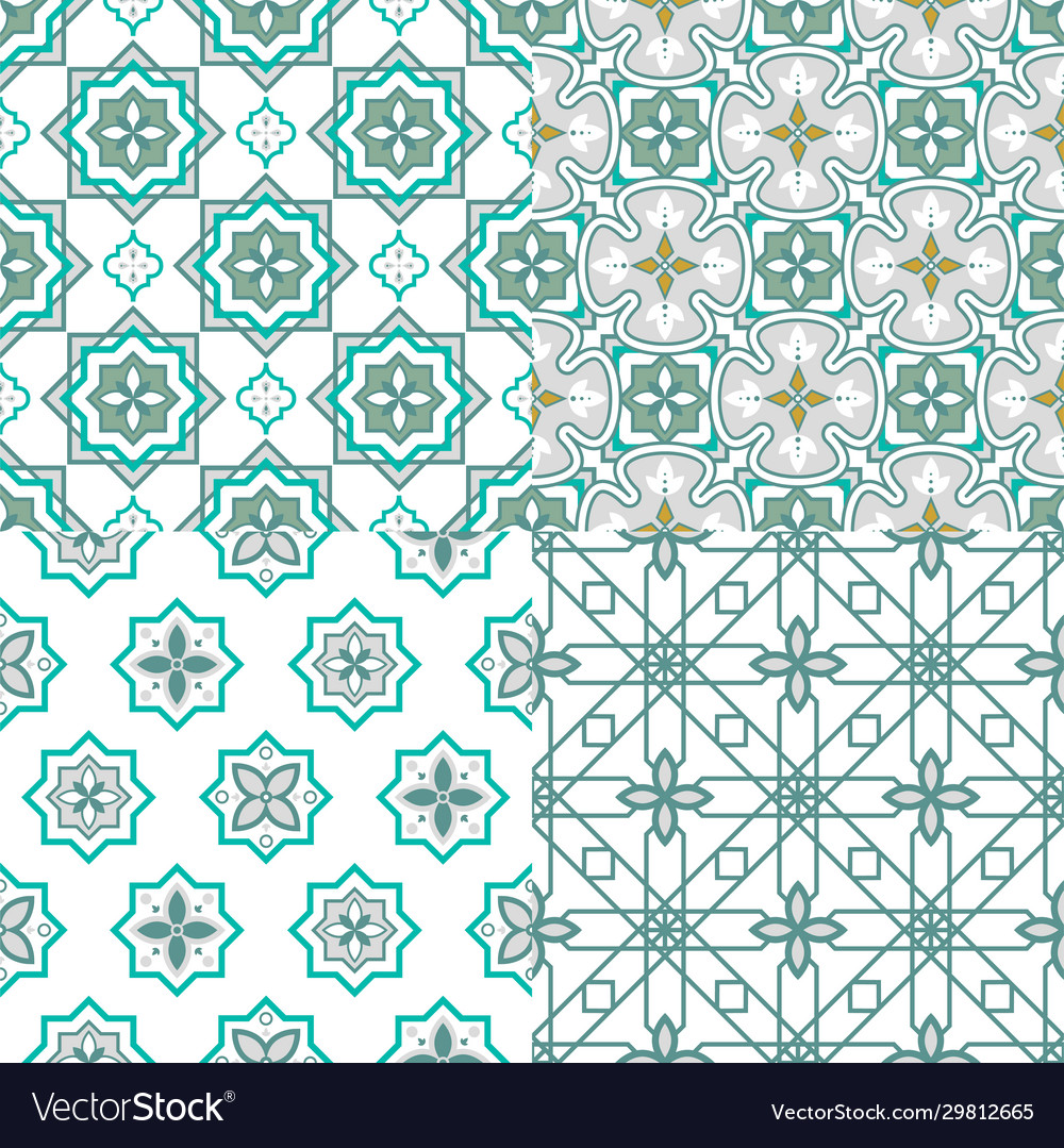 Arabesque morocco seamless pattern traditional