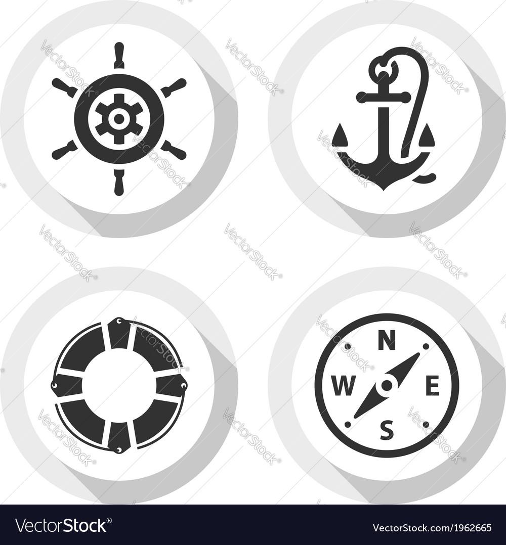 Set of travel flat icons