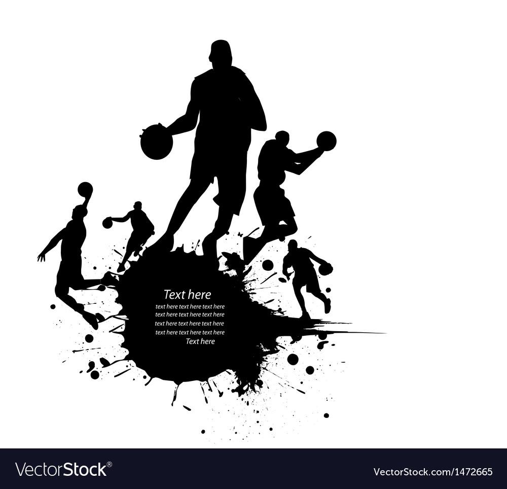 Sportsperson silhouette