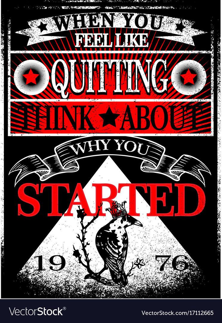 Vintage slogan man t shirt graphic design