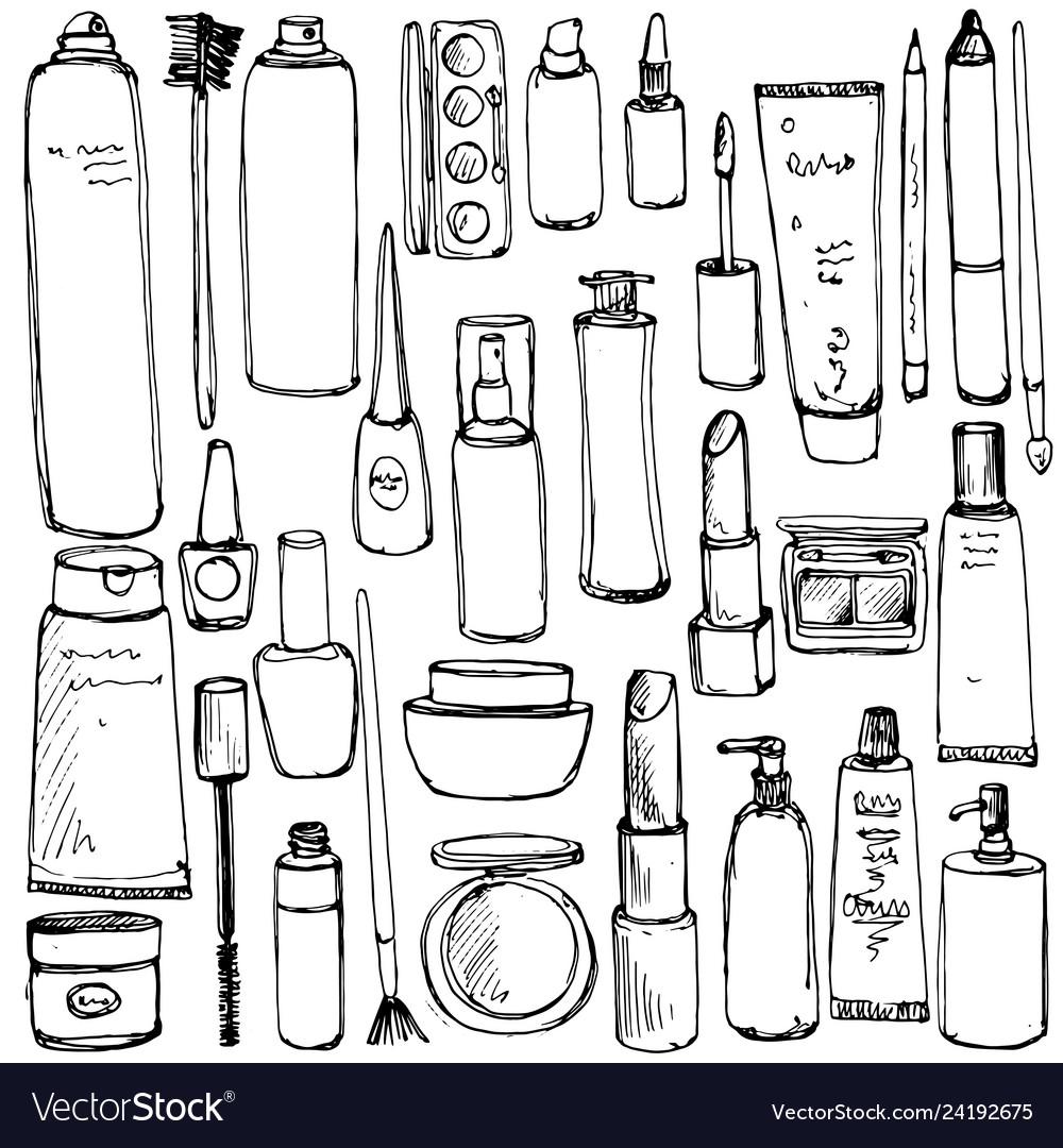 Drawing cosmetics