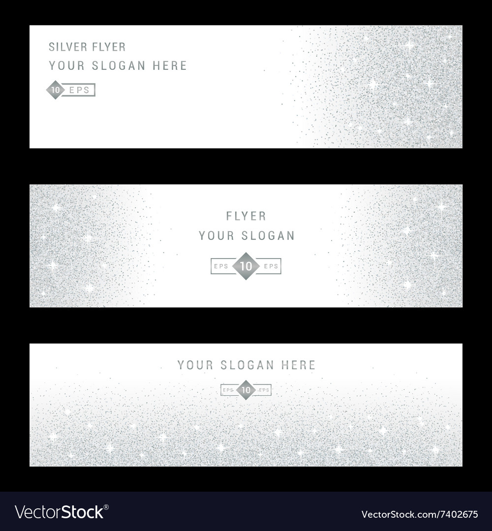 Silver Banners and Cards