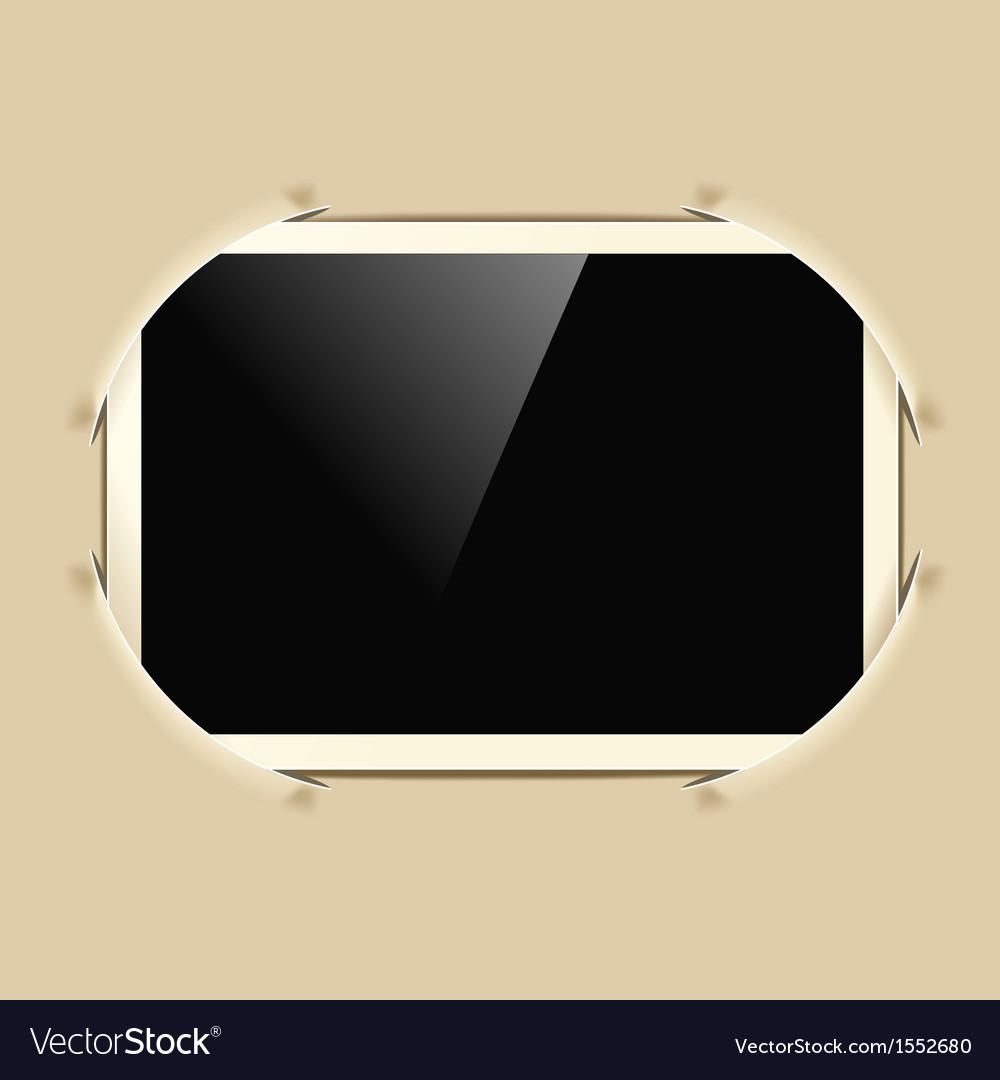 Photo frame in album