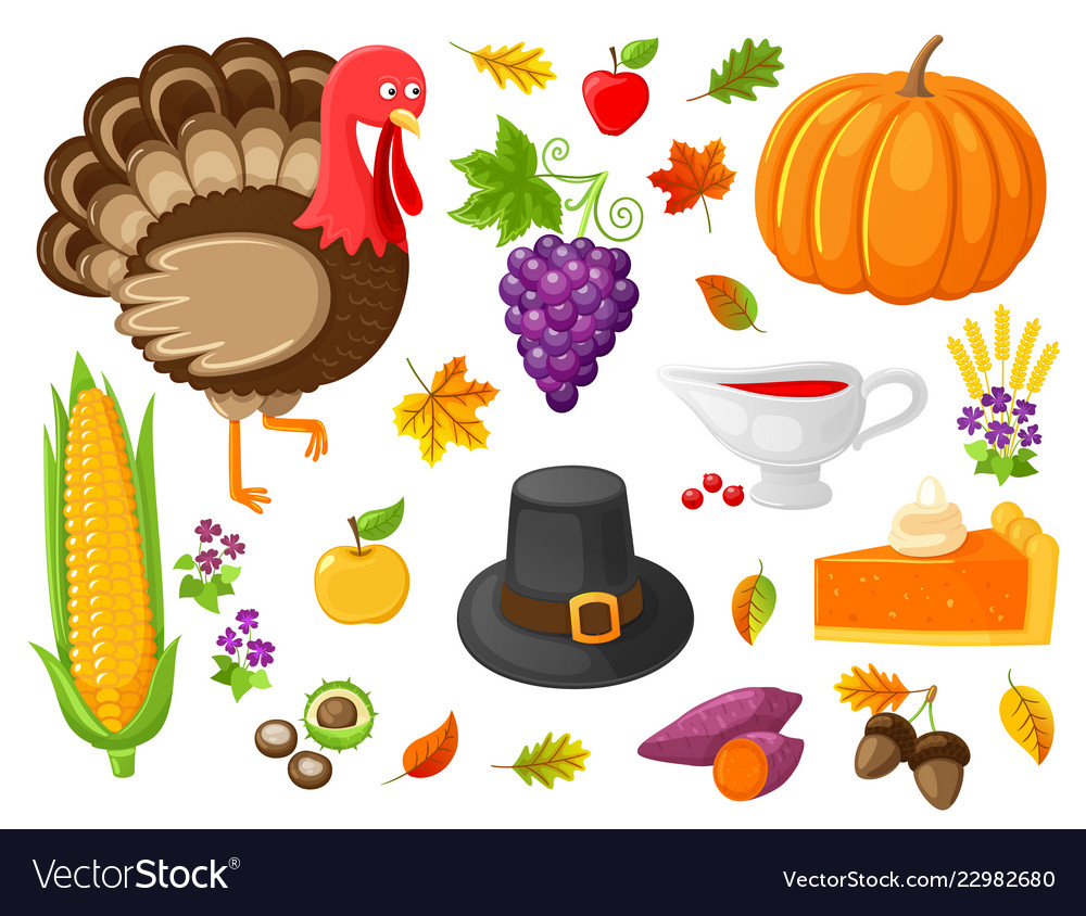 Turkey and pumpkin products thanksgiving