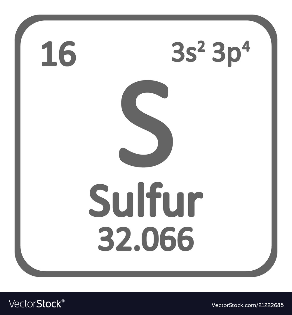 Sulfur Square Periodic Table Topsimages