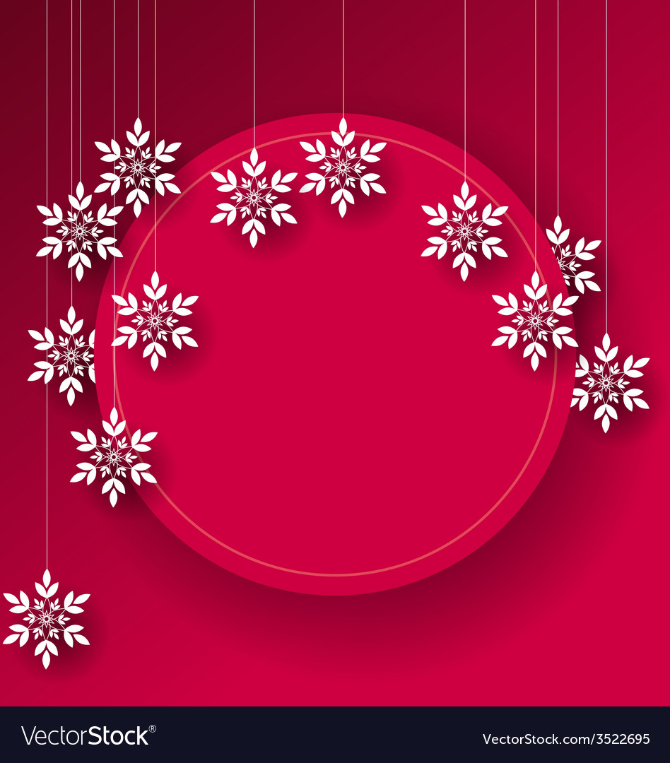 Abstract Christmas card background