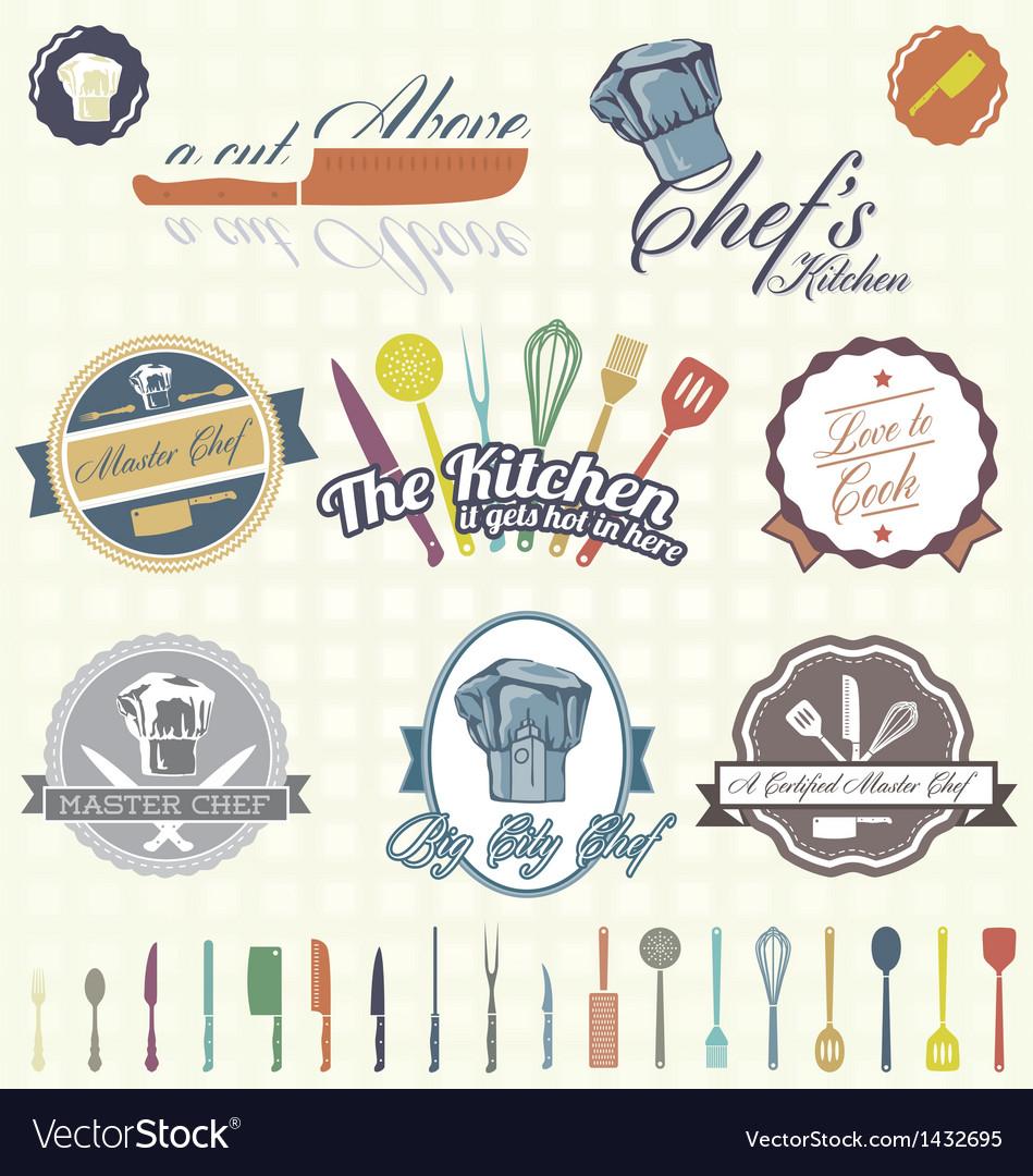 Chef Labels Color
