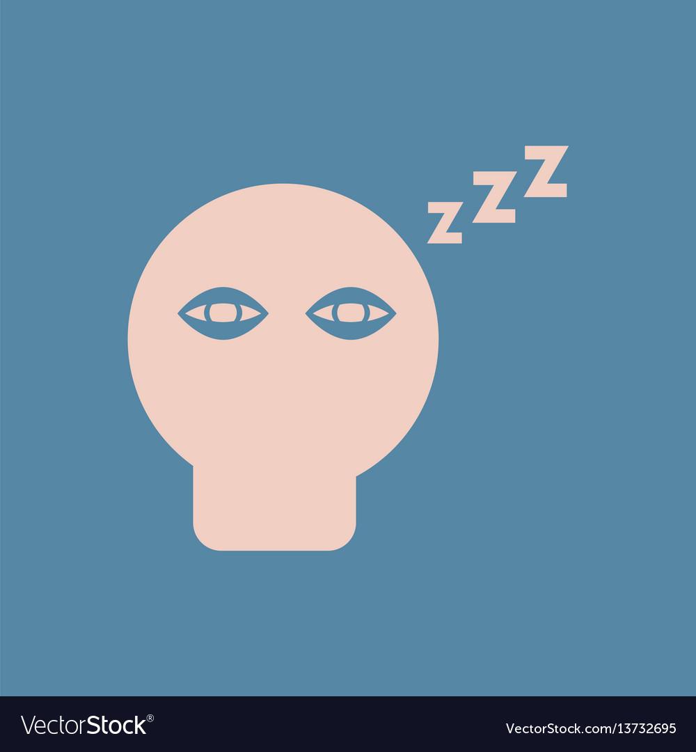 insomnia various symptoms of leukemia fatigue vector image