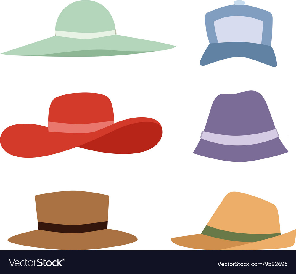 Summer hats collection set