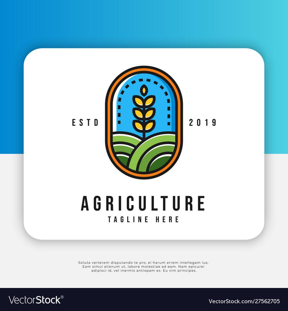 Agriculture logo design inspiration