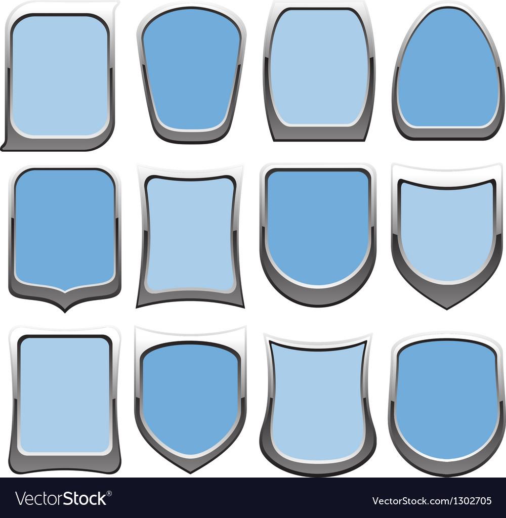 Badges blue