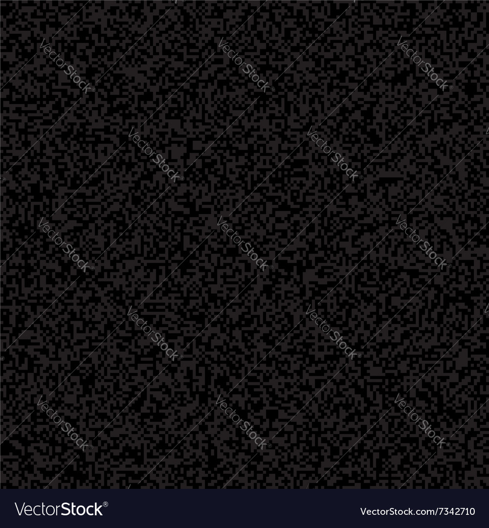 Black Pixelated Texture