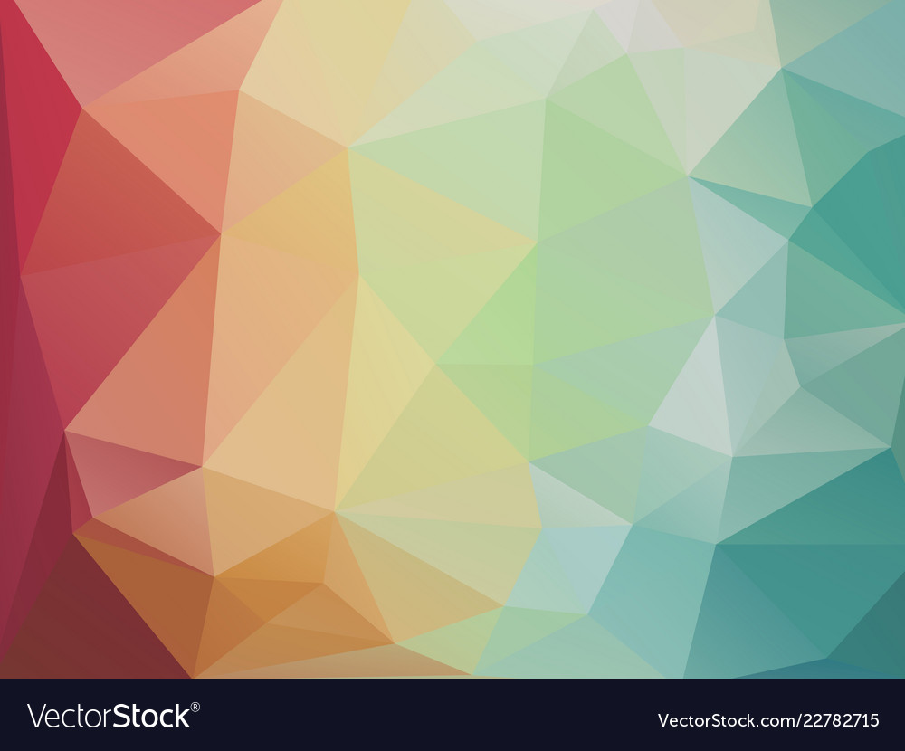 Abstract Geometric Mosaic Background Pastel Color
