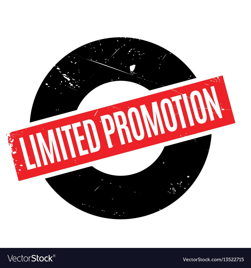 limited promotion rubber stamp royalty free vector image rh vectorstock com parental advisory vector free parental advisory explıcıt content vector