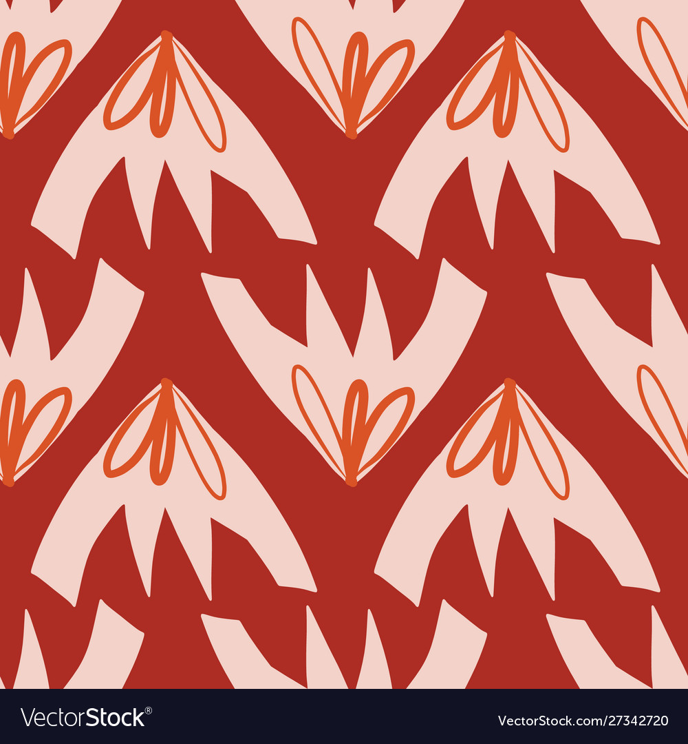 Contemporary seamless background with abstract