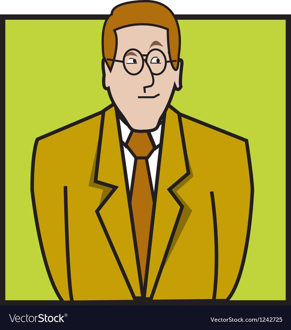Lawyer vector image
