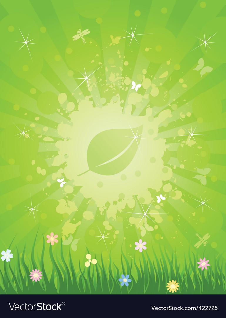 Leaf3 vector image