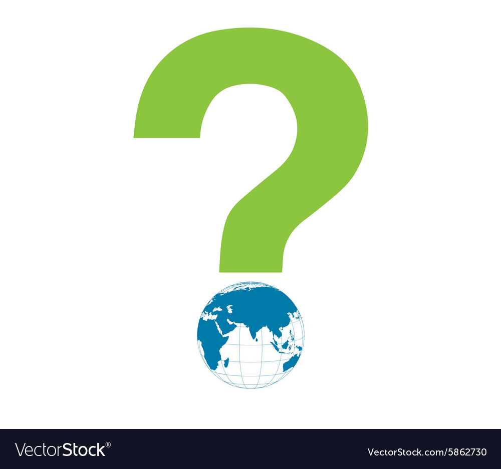 Word Eco globe