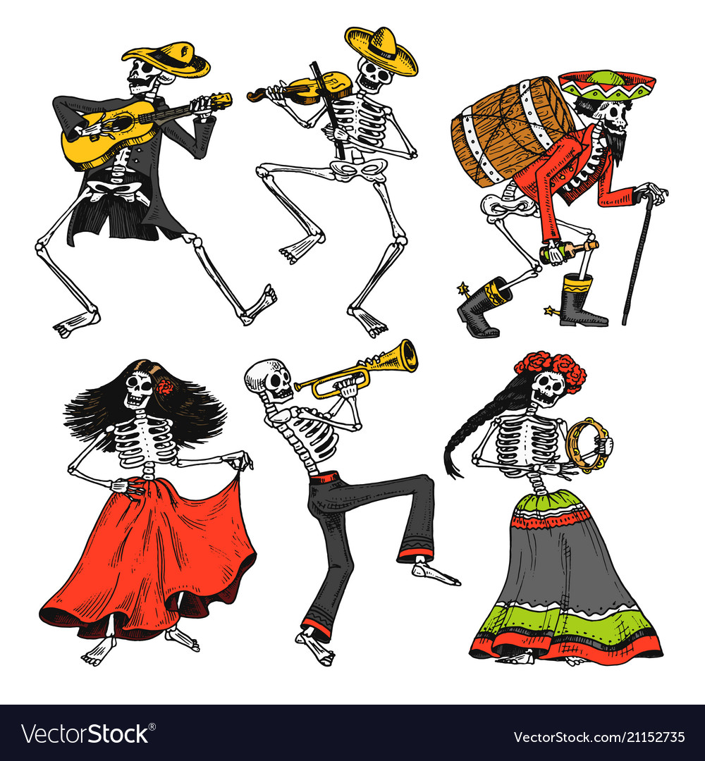 Day of the dead mexican national holiday