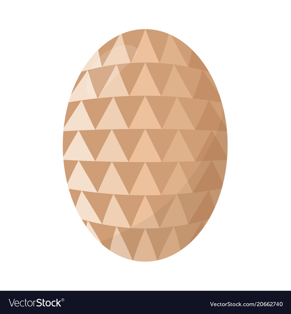 Delicious easter egg