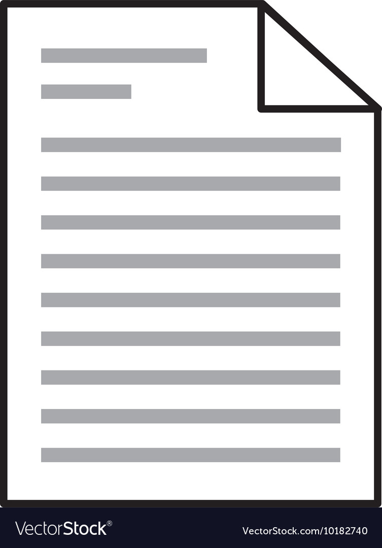 Document file paper text icon