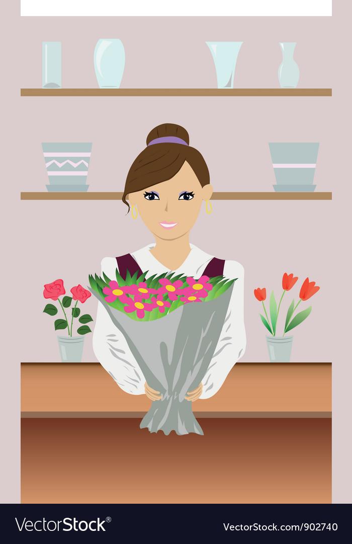 Утро принцесса, флорист картинки для детей на прозрачном фоне