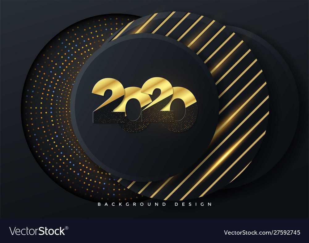 2020 greeting card background template