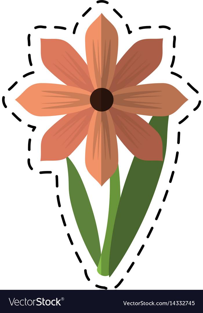 Cartoon gerbera flower spring ornament