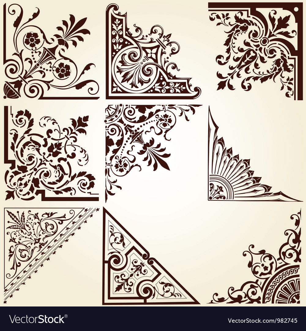 Decorative Ornamental Corners