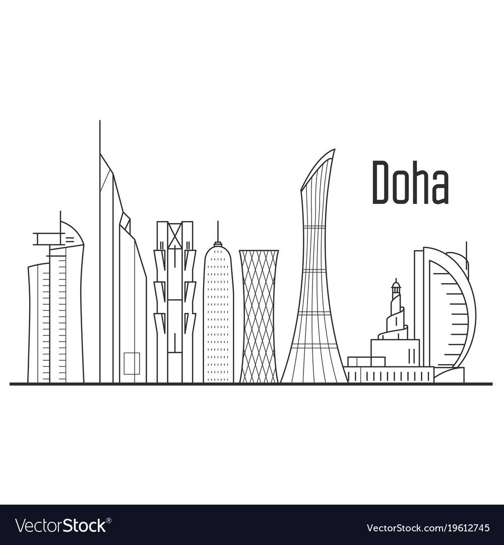 Doha City Map Free Download