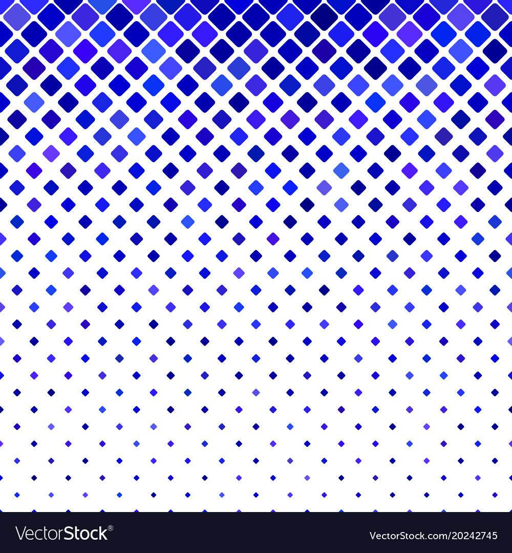 Geometric diagonal rounded square pattern vector image