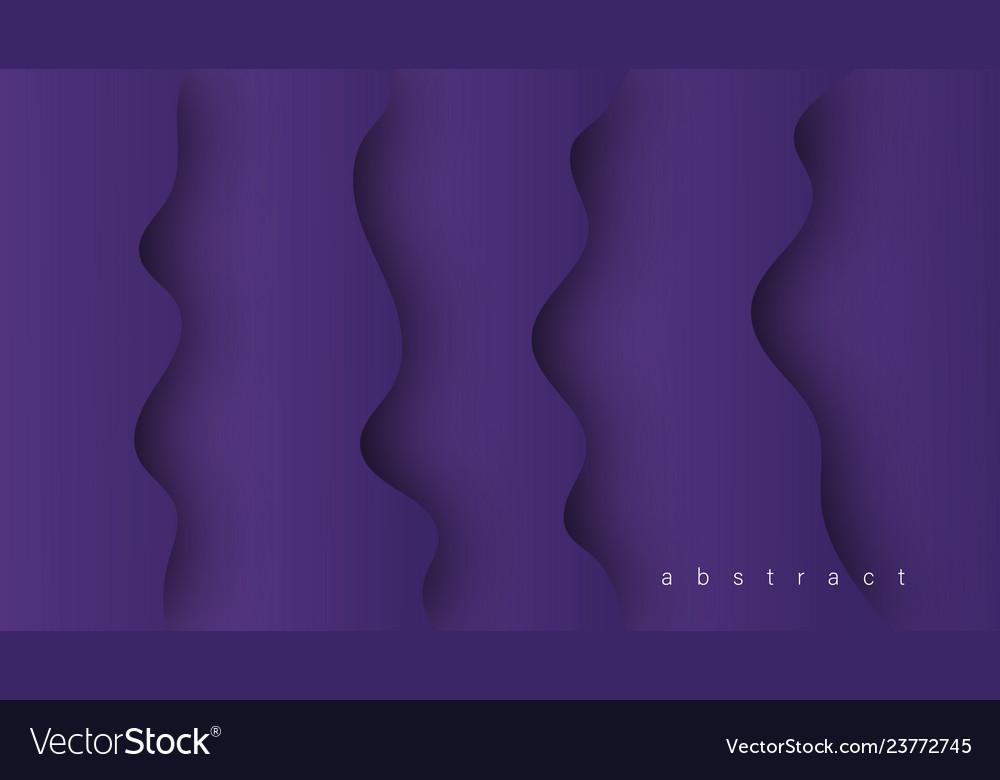 Liquid abstract shape gradients