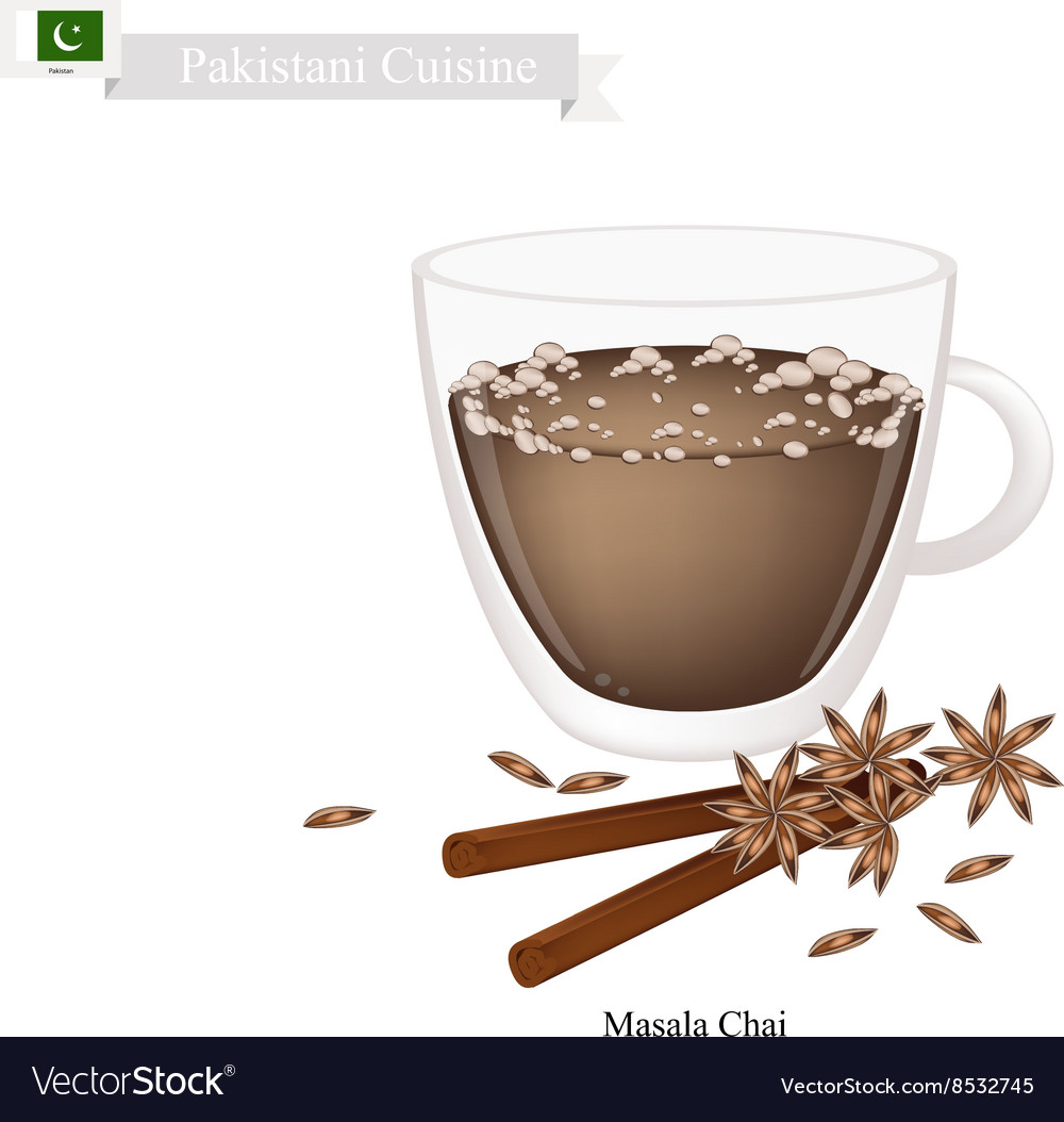 Masala Chai Traditional Pakistani Black Hot Tea