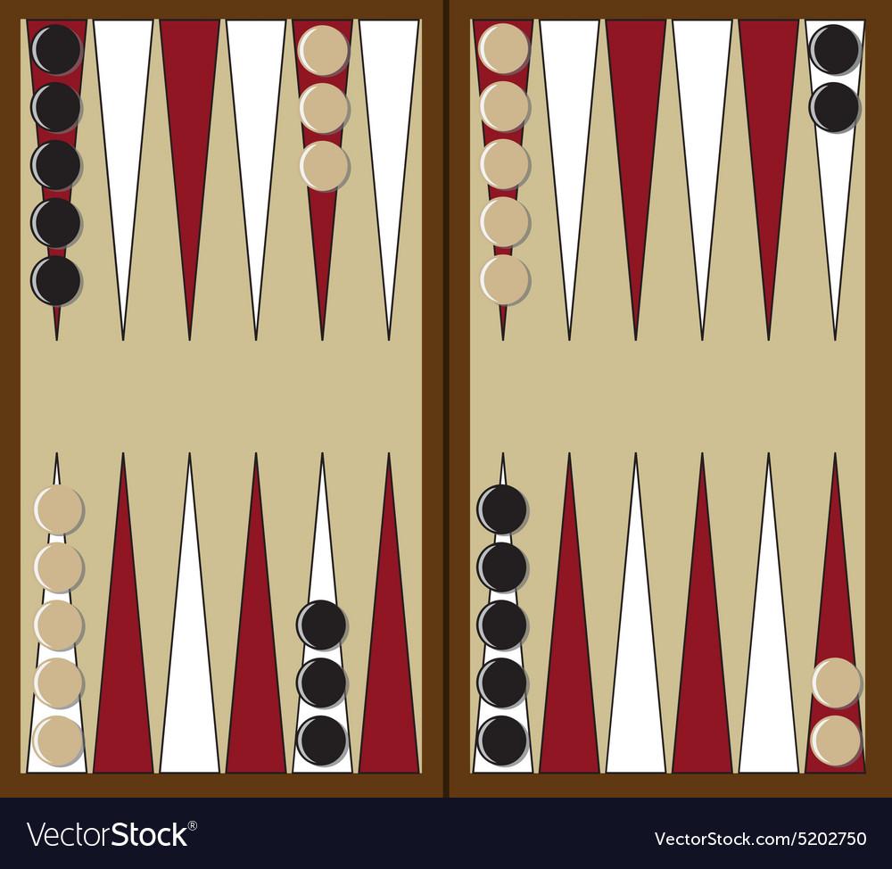 Backgammon game Royalty Free V...