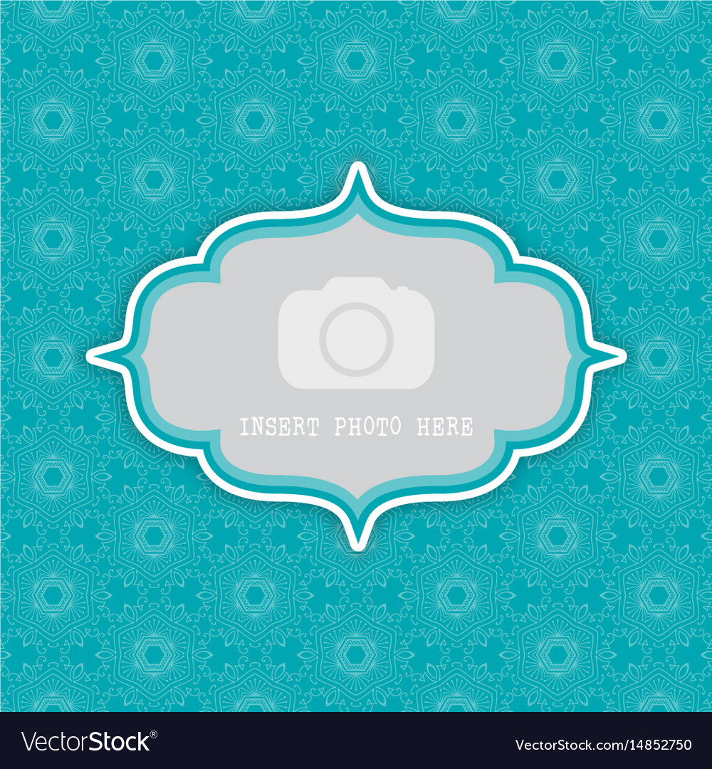 Decorative background with frame for photo 0803
