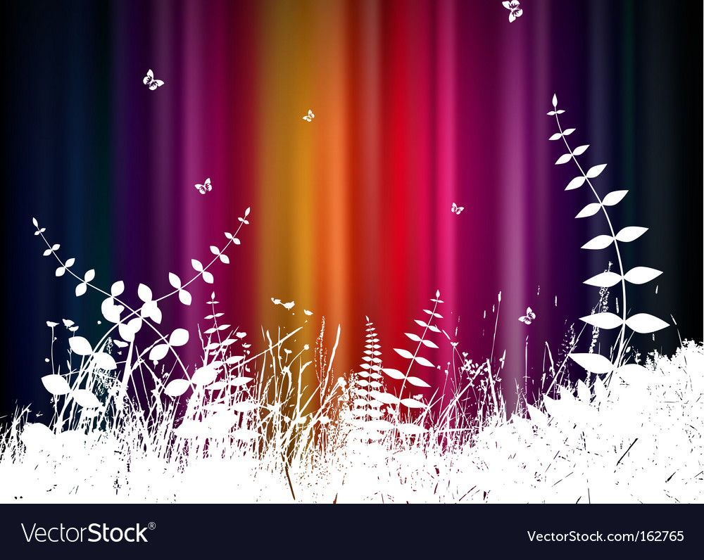 Abstract background with grass