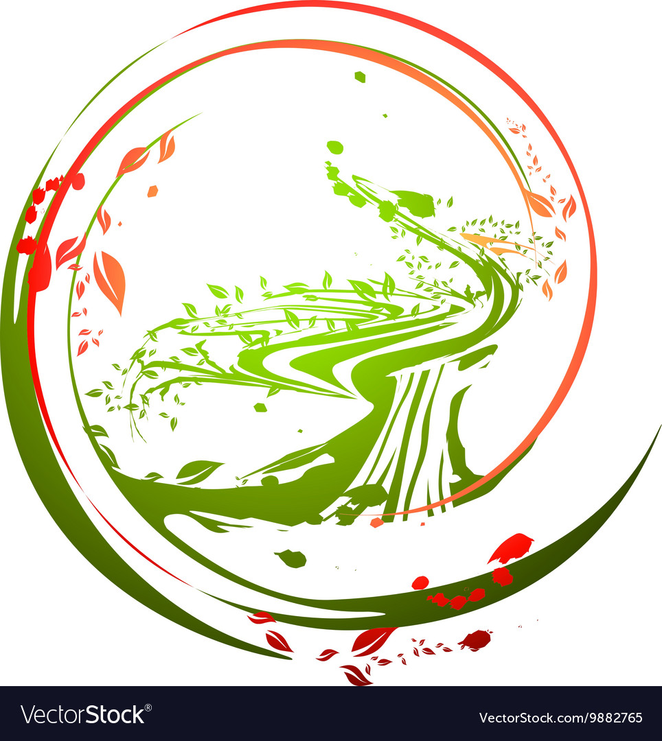 Life Time Tree vector image