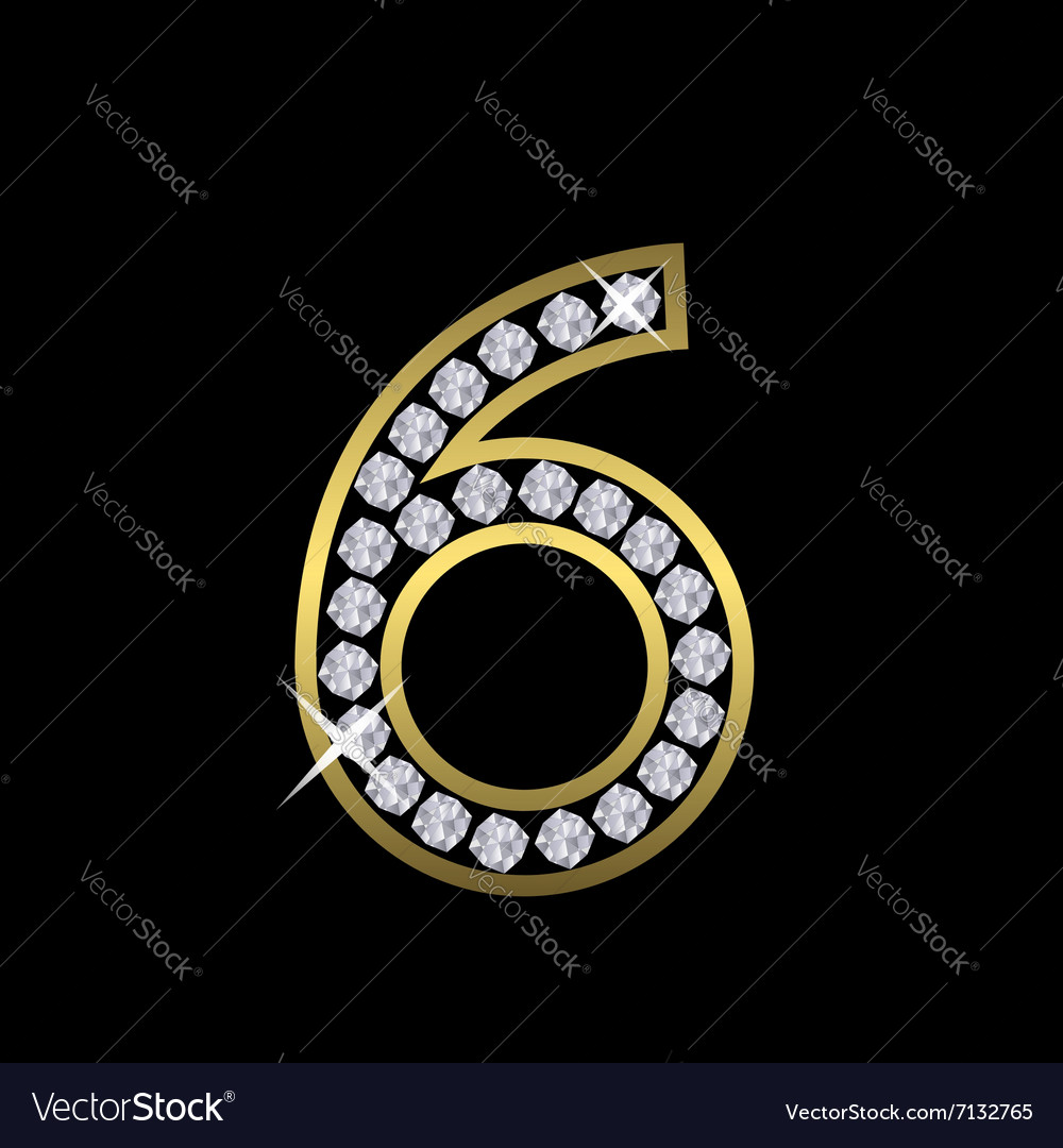 Number six sign