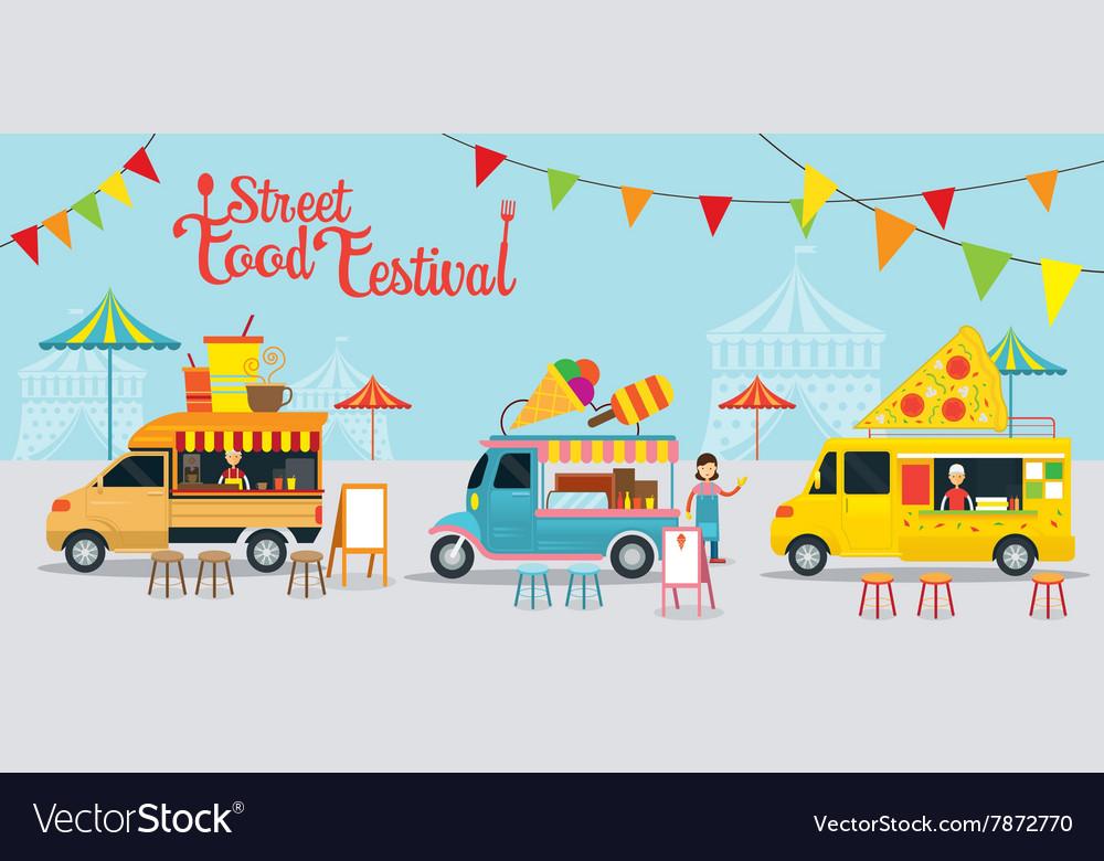Food Truck Street Food Festival