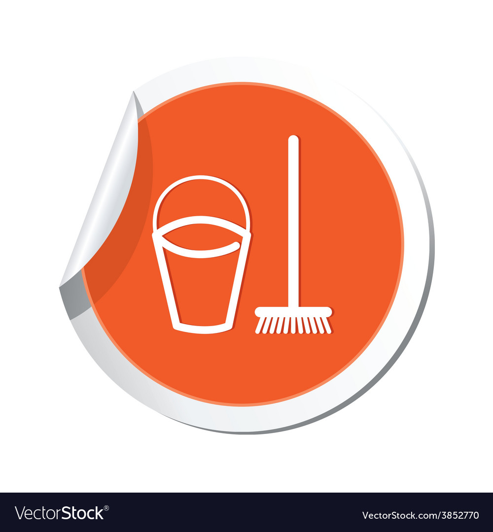 Mop and busket ORANGE LABEL