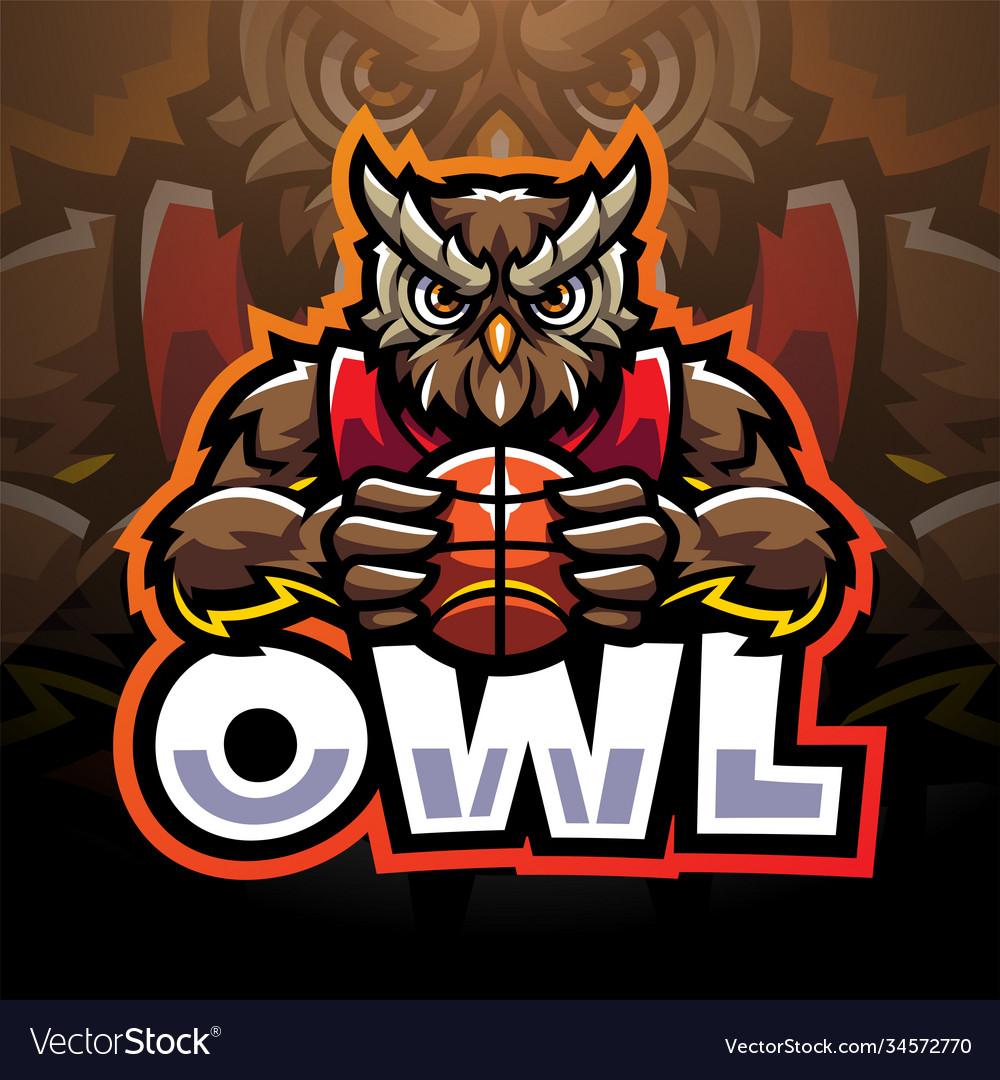 Esports Logo Owl Vector Images 20