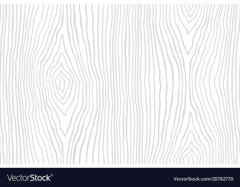 Seamless Pattern Of White Wooden Texture Vector Image
