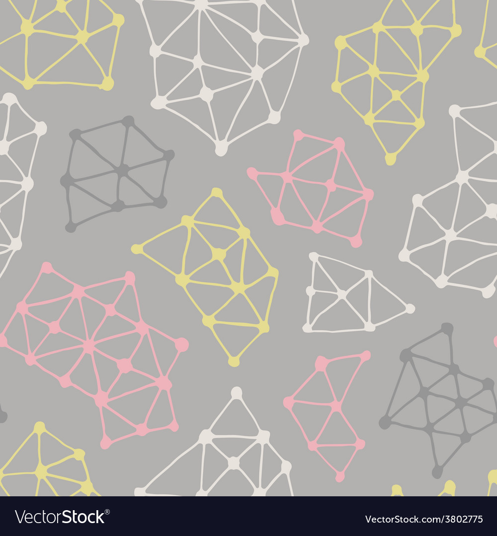 Abstract geometric pattern seamless background